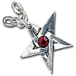 Alchemy Ripats Crystal Pentagram