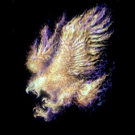 HD Glow in The Dark Fire Eagle