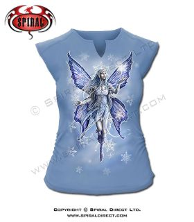 Spiral Direct Snow Fairy Sleeveless Top