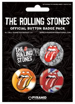 The Rolling Stones Badge Pack
