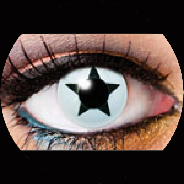 Contact Lenses Black Star
